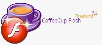 CoffeeCgggg نرم افزار CoffeeCup Flash Firestarter 7.1