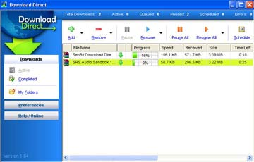 Downloadiiu دانلود راحت از سایت رپیدشیر با Download Direct 1.14