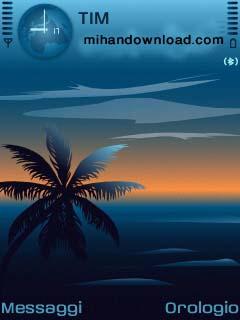 DreamingBlue تم جدبد موبایل نوکیا سری 60 ورژن3 Nokia Theme