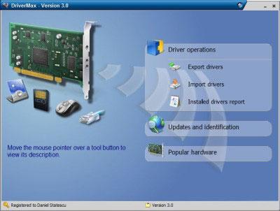DriverMax2kk03 با Drive Max v4.0 از دردسر درایورها خلاص شوید!