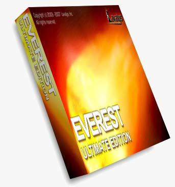 EVEREgn تشخیص و تست زنی قطعات سخت افزاری EVEREST Ultimate Edition.4.60 Build 1500