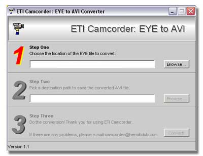 EYECon دانلود نرم افزار تبدیل تمامی پسوندهای تصویری به 3gb EYECon Convertor