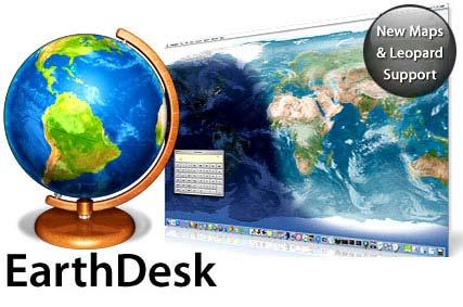 EarthD با EarthDesk 4.5.2 میز کار خود را به کره زمین تبدیل كنيد!