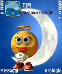 Emotiangel by babi%20copy دانلود یک تم بسیار زیبا برای گوشی های نوکیا سری 70 و 90