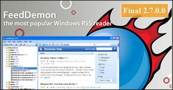 FeedDem سیاحت سریع و ساده در جهان اطلاعات با پیك موتوری FeedDemon 2.7.0.0 Final