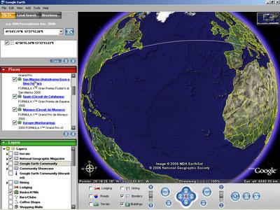 Googddd گوگل ارت کرک شده(تماشای جهان)Google Earth 4.0 Pro Build 2722