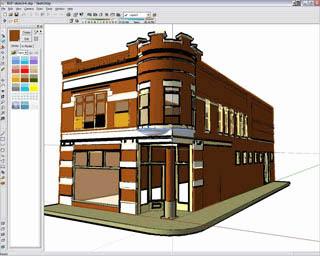 Googleppp طراحی 3 بعدی با Google SketchUp 5.0.305