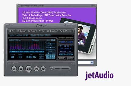 JetAudi نرم افزار همه منظوره پخش فایلهای مالتی مدیا JetAudio 7.1 Build 3100 Plus VX