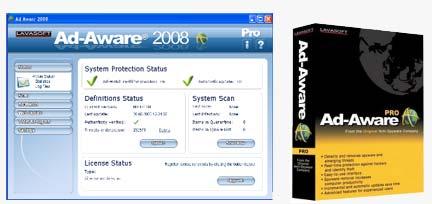 Lavasjyt مقابله با ویروس ها و نرم افزار های جاسوسی با Lavasoft Ad Aware 2008 v7.1.0.8
