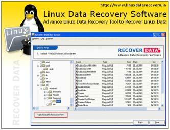 Linuggg بازیابی اطلاعات پاک شده در سیستم عامل های لینوکس Linux Data Recovery 1.0