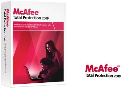 McAfoooi بسته امنیتی بسیار قدرتمند(انتی ویروس مکافی) McAfee Total Protection v2009