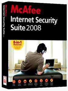 McAfpppp امنيت بالا و آسودگي خاطر با McAfee Internet Security Suite 2008