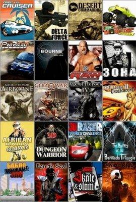 Mega game pack 3 دانلود مجموعه اي از بازيهاي جديد براي گوشي هاي نوكيا سري 40