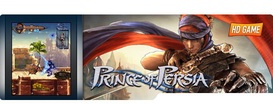 Prince of Persia HD 0 بازی prince of persia با گرافیک بسیار عالی برای گوشی های نوکیا