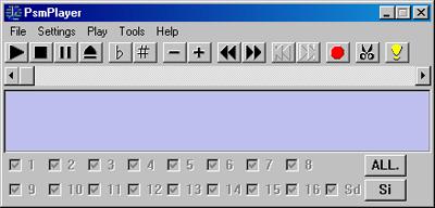 PsmPlayer 01 نرم افزار تبديل فرمتهاي صوتي به mmf
