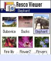 RescoPhoto resco viewer نرم افزار نمایش عکس
