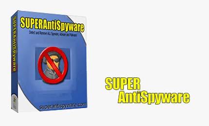 SUPERApppp پاک سازی برنامه های جاسوسی با SUPERAntiSpyware Pro 4.15.1000