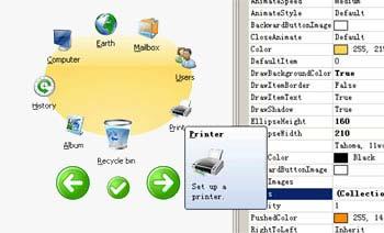 Sunis545454 پکیجی از منوها برای استفاده برنامه نویسانSunisoft IrisMenu