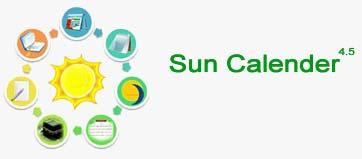Suoioi تقویم شمسی Sun Calender 4.5