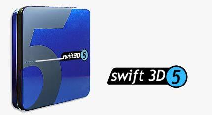 Swiftt05 ساخت سریع انیمیشن ها و اشکال سه بعدی با استفاده از Swift 3D 5.00.628