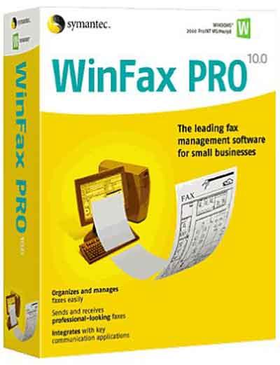 SymantecWinFaxPro دانلود نرم افزار ارسال  و دریافت فکس از کامپیوتر Symantec WinFax