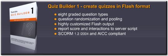 Tani خلق آزمون های الکترونیکی با Tanida Quiz Builder 1.1
