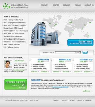 Template123456 قالب سایتTemplate Monster 11370