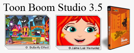 Tooppp انیمیشن های حرفه ای دو بعدی Toon Boom Studio 3.5