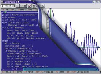 Turuuuuu محیط برنامه نویسی پاسکال Turbo Pascal 7.0