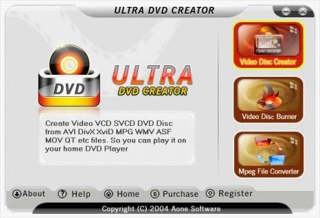 Ultrahhhh نرم افزار قدرتمند رایت Ultra DVD Creator v2.5.0814