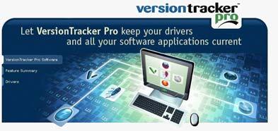 Versiontgggg به روز رسانی درایورها با Versiontracker Pro 4.1.0   Build 243