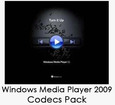 Windolll پخش تمام فرمت های صوتی تصویری  Windows Media Player 2009 Codecs Pack