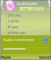 ZIDIAN Studio AudioCube v1 0 تبدیل پسوندهای صوتی در موبایل