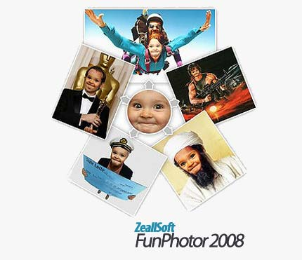 ZeallS ترکیب تصاویر مختلف با ZeallSoft FunPhotor 2008