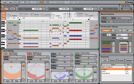 Zplllll ابزاری برای کار بر روی آهنگ ها Zplane Developement Vielklang VSTi v1.1
