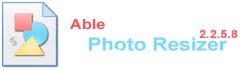 able photo resizer نرم افزار تغییر سایز دسته ای عکس کاربردی برای گرافیست ها Able Photo Resizer