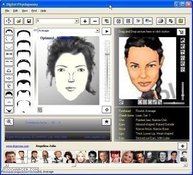 di تکنیک تشخیص هویت Digital Physiognomy 1.50
