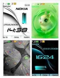 theme%20s40 1 تم نوکیا سری 40   مجموعه 4 تم جدید Theme Nokia s40