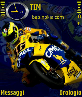 moto تم زیبا و جذاب برای نوکیا(n70/n90)