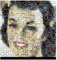 moza1 نرم افزار ساخت عکس های موزائیکی Mazaika