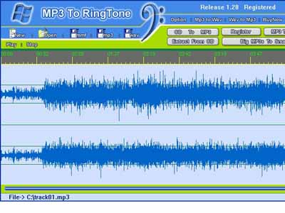 rington rs برنامه ای برای ویرایش آهنگ ها mp3 to Rington