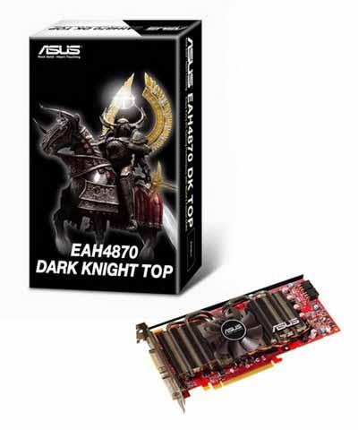 ASUSEAH4 small سخت افزار جديدASUS EAH4870 Dark Knight TOP