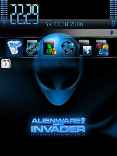 AlienWare تم موبایل   AlienWare برای گوشی های نوکیا سری 60 ویرایش 3