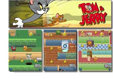 tamojery بازي معروف و زيبا تحت جاوا تام و جري   بازي نسخه جاوا Tom Jerry Game
