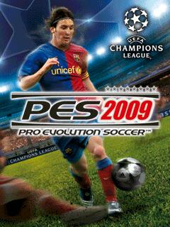 PES 2009 1 بازي جديد Pro Evolution Soccer 2009 تحت جاوا   Mobile PES 2009