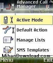 AD(MihanDownload.com) نرم افزار مدیریت تماس ها AdvanceCallManager