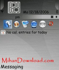 BrushEdmet تم های موبایل زیبا نوکیا سری60v3 سریn نوکیا