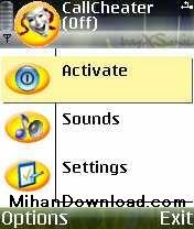 CHATER(MihanDownload.com) نرم افزار موبایل نوکیا CallCheater