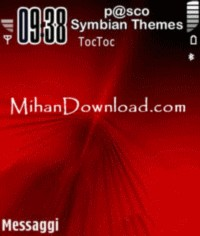 Dvred%5BMihanDownload تم جدید نوکیا سری theme nokia Dvred N