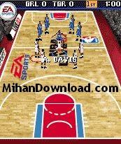 NBA بازی موبایل جاوا بسکتبال ان بی ای NBA